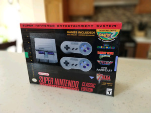 (SNES) Classic Edition trade for Nintendo Switch or $250