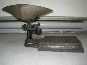 balance antique antique scale West Island Greater Montréal image 4