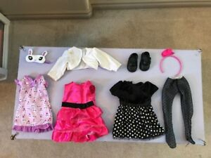 Doll Clothes & Stroller