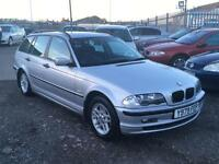 2001/Y BMW 318 1.9i i SE Touring LONG MOT EXCELLENT RUNNER