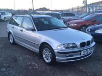 2001/Y BMW 318 1.9i i SE Touring LONG MOT EXCELLENT RUNNER