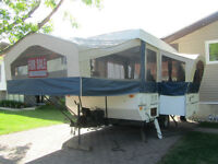 Reduced Price- Top of the Line Tent Trailer for Sale
