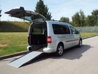 Volkswagen Caddy 1.6TDI Maxi Life WAV Wheelchair Access Vehicle Disability Car