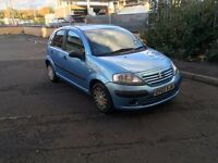 02 REG Citreon C3 Desire, Petrol 1.4 MAY PX IR SWAP