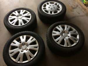 Winter tires and rims - great for Volvo S60 - 2005 through 2013