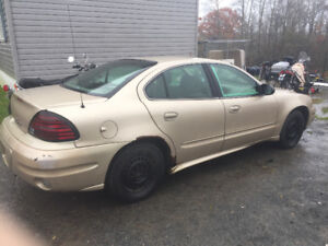 2005 Grand Am for parts or repair