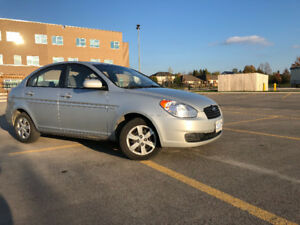 2011 Hyundai Accent 4 Door Sedan