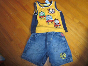 Thomas the Tank Engine shirt and short set