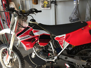 93 Honda CR 125, will trade for 4x4 quad