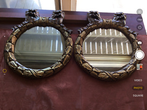 2. Mirrors. 5.00 for both