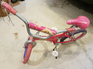 Girls 16 inch bike Barbie fashionista