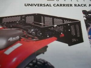 UNIVERSAL ATV REAR Drop box  FITS ALL BRANDS  LOWEST PRICE !! Kingston Kingston Area image 1
