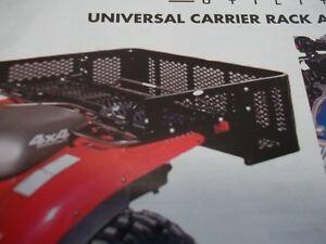 UNIVERSAL ATV REAR Drop box  FITS ALL BRANDS  LOWEST PRICE !! Kingston Kingston Area image 1