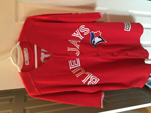 Blue jays Canada day jersey