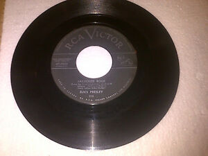ELVIS PRESLEY LOST RECORDS 1957CANADIAN RCA 45RPM JAILHOUSE ROCK Cambridge Kitchener Area image 1