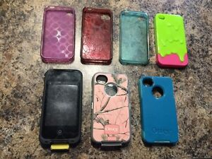 iPhone 4/4s cases (lot of 7)