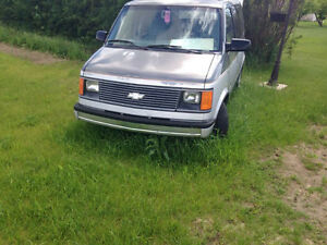 1997 Chevrolet Astro Minivan, Van Runs Great