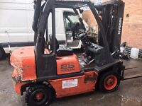 Nissan 2.5 ton diesel Forklift