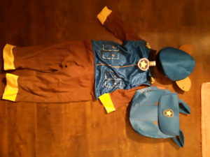 Brand new never worn size 2-4 Chase costume (paw patrol)