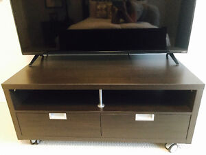 TV & Media Stand & Storage Measurements: 47 inches wide x 23.5 d