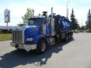 """2007 PETEBUILT VAC COMBO   """"""""""""RENT by the month"""""""""""