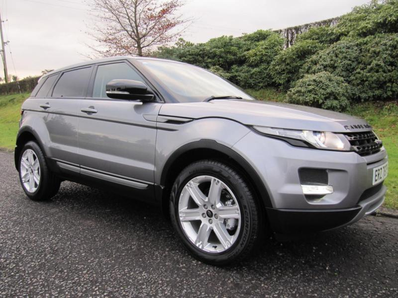 2012 land rover range rover evoque 2 2 sd4 pure 4x4 in banbridge county down gumtree. Black Bedroom Furniture Sets. Home Design Ideas