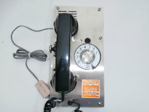 New Dynalec Telephone Type G 65018 / 65019 Stainless Steel