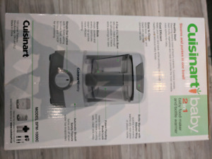 2-In-1 Cuisinart Baby Food Maker and Bottle Warmer.