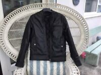 ASOS A BRAND NEW VERY NICE LOOKING AND STYLISH MANS FAUX LETHER JACKET! NEVER BEEN WORN