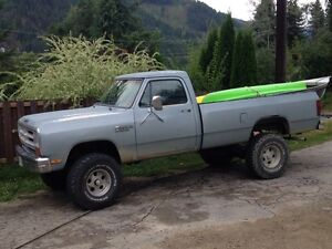 86 dodge pickup trades concidered motivated to sell