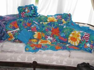 Factory Clearance 6 Peice Crib Bedding Sets $50.00