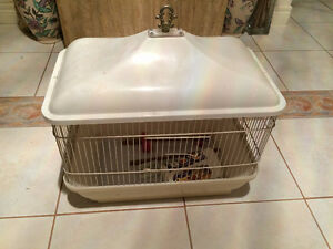 Classy Small Pet Cage in Good Condition with some accessories