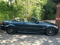 02 BMW 330Ci M Sport Auto Individual Convertible
