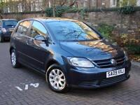 EXCELLENT CAR! 2009 VOLKSWAGEN GOLF PLUS 1.4 TSI LUNA 5dr ONLY 45000 MILES,