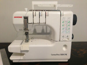 Janome Coverstitch Pro 1000CPX