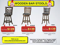 BAR STOOLS OUTLET STORE BEST PRICESS IN TORONTO BRAND NEW