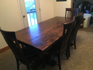 Custom Dining Table & Chairs $5000 OBO