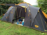 Family Tent 4 Person - Campus Super Duo Turbo