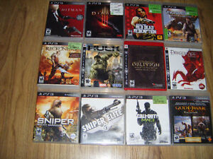 12 Playstation 3 games for sale
