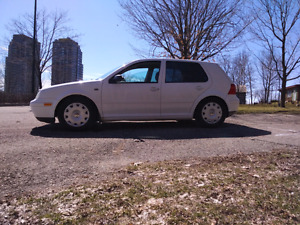 2003 VW Golf Only 90KM **NEED IT GONE**