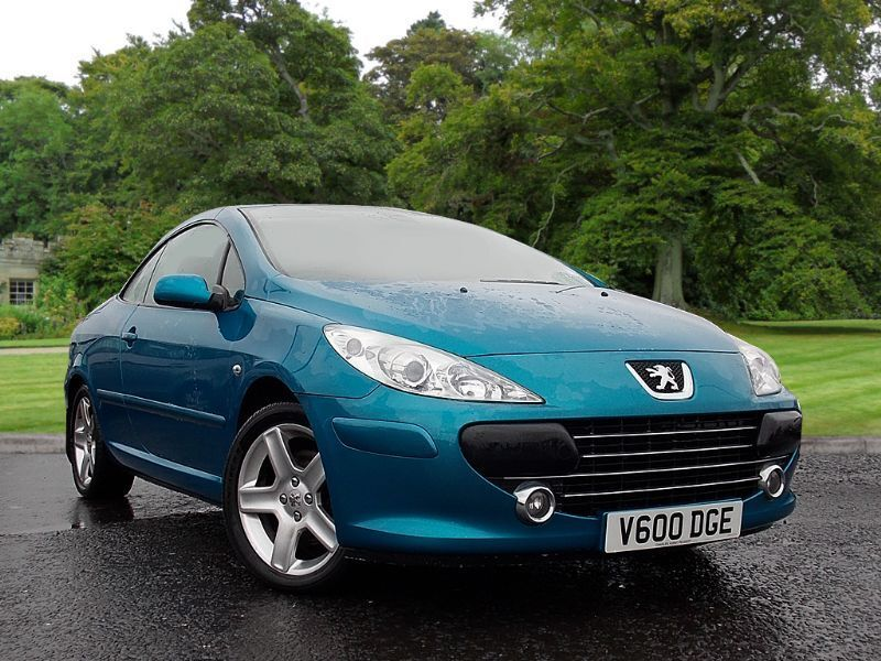 abyss blue metallic peugeot 307 cc 2 0 hdi 136 se 2006 in county antrim gumtree. Black Bedroom Furniture Sets. Home Design Ideas