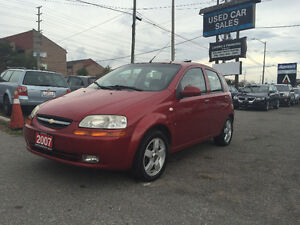 *CERTIFIED*NO ACCIDENT*2007 Chevrolet Aveo LT HB