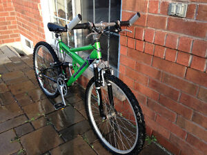 NAKAMURA DESCENT FS FULL SUSPENSION MOUNTAIN BIKE