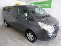 FORD TRANSIT CUSTOM 2.0 310 LIMITED LR P/V ***FROM £416 PER MONTH***