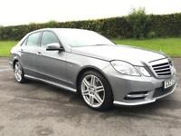 2012 MERCEDES-BENZ E CLASS 3.0 E350 CDI BLUEEFFICIENCY S/S SPORT 4D AUTO 265 BHP