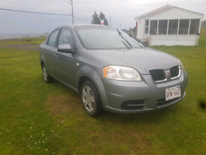 2007 Pontiac G3 Wave, very low kms