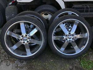 24 inch rims with tires 6x139.7