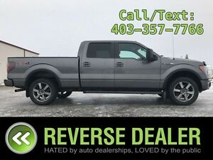 2012 Ford F-150 FX4  Crew Cab, 20 inch wheels, Back-up sensors