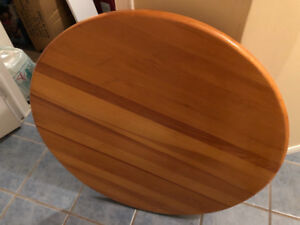 Solid Pine Round Coffee Table
