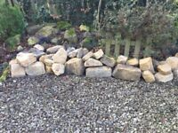 Cotswold stones ....walling or rockery